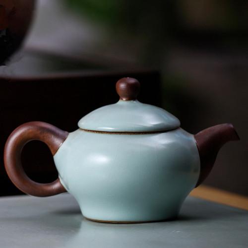 He Huan Hu Ceramic Chinese Kung Fu Tea Teapot 150ml