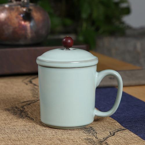 Chinese Style B005 Ceramic Loose Leaf Tea Mug with Infuser