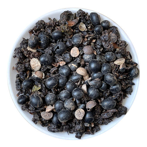 Organic Taiwan Black Soybean Oolong Tea 500g