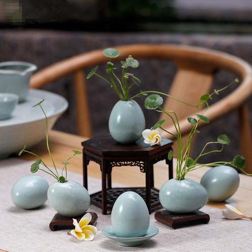 Retro Ru Kiln Ceramic Vase