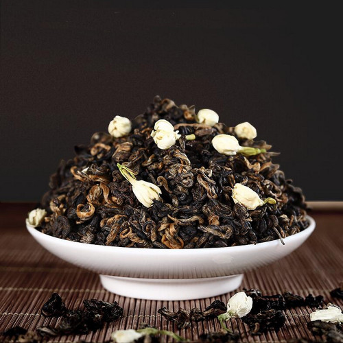 Jasmine Golden Snail Chinese Handmade Black Tea 500g