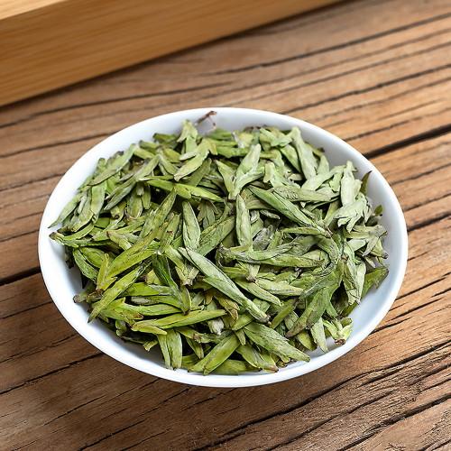 Connoisseur's Organic First Pluck Mingqian Xihu Long Jing Dragon Well Green Tea 500g