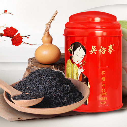 WUYUTAI TEA Brand Song Yan Hong Lapsang Souchong Black Tea 50g