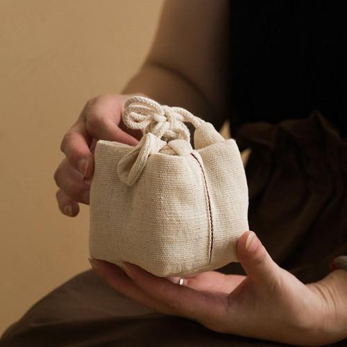 Su Jing Jia Hou Teapot Teacup Tea Set Pouch Travel Storage Bag