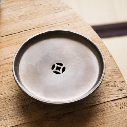 Yan Ji Li Water Storage Tin Tea Tray 135x135x28mm