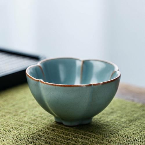 Ru Kiln Zen Ceramic Gongfu Tea Tasting Teacup