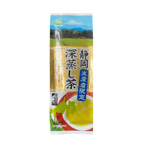 Gold Grade Shizuoka Deep Steamed Sencha Japan Green Tea 100g