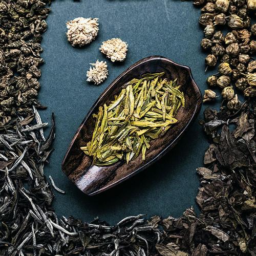 Hei Shi Wood Cha He Loose Tea Presentation Vessel