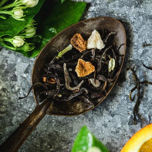 Organic Orange Fruit Jasmine Green Tea 500g