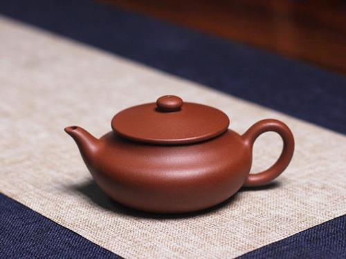 Handmade Yixing Zisha Clay Teapot Hongpi 130ml