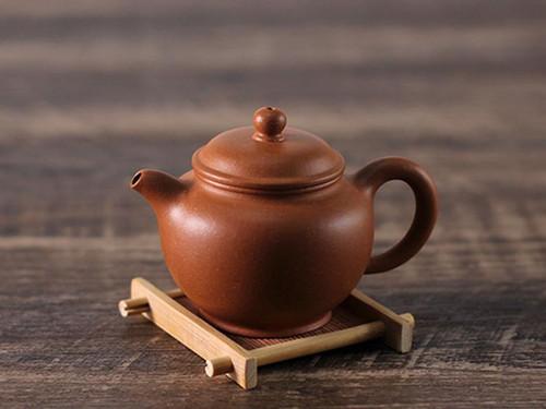 Handmade Yixing Zisha Clay Teapot Shazi 180ml