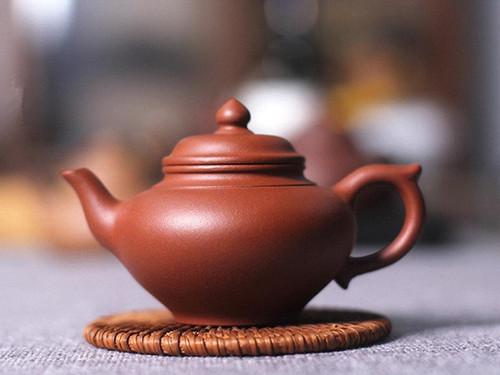 Handmade Yixing Zisha Clay Teapot Xiaoying 130ml