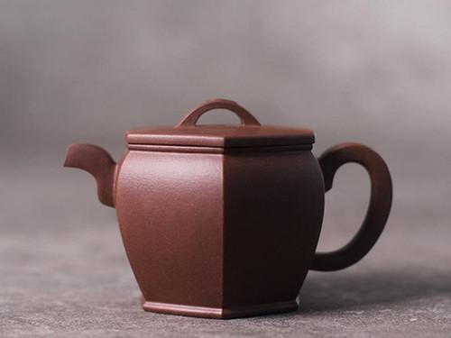 Handmade Yixing Zisha Clay Teapot Qinchao 220ml