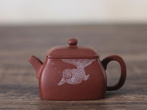 Handmade Yixing Zisha Clay Teapot Xiaocun 150ml