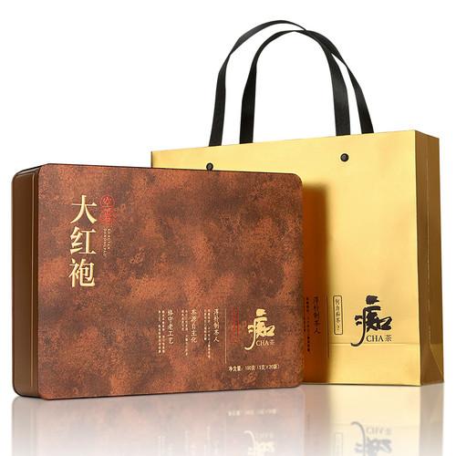Luzhenghao Brand Chi Tea Series Da Hong Pao Fujian Wuyi Big Red Robe Oolng Tea 100g