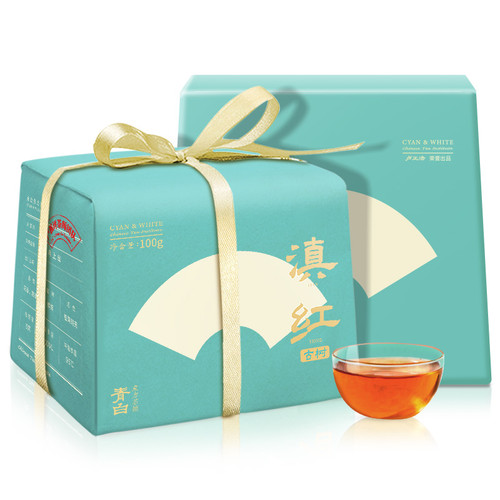 Luzhenghao Brand Premium Grade Ancient Tree Dian Hong Yunnan Black Tea 100g