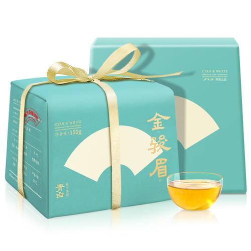 Luzhenghao Brand Qingbai Guanju Series Premium Grade Jin Jun Mei Golden Eyebrow Wuyi Black Tea 150g