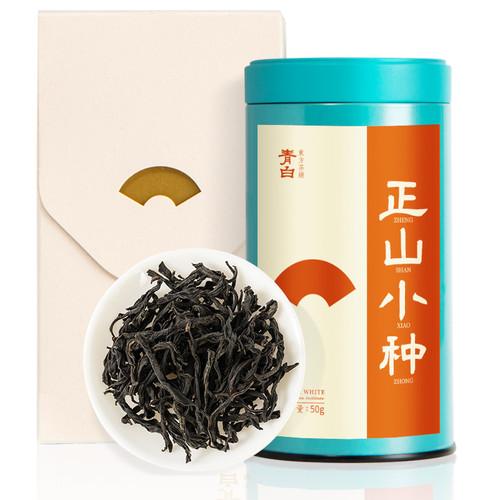 Luzhenghao Brand Qingbai Premium Grade Lapsang Souchong Black Tea 50g