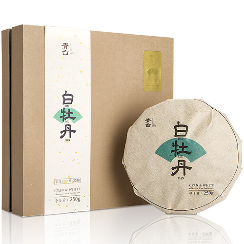 Luzhenghao Brand White Peony Fuding White Tea Cake 250g