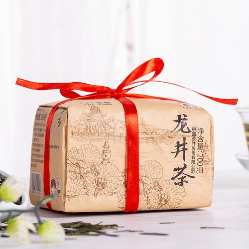 CHINATEA Brand Yu Qian 2nd Grade Long Jing Dragon Well Green Tea 200g