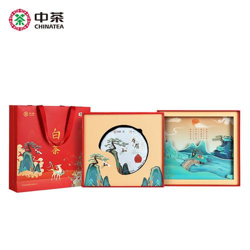 Butterfly Brand Sui Han San You Shou Mei White Tea Cake 357g
