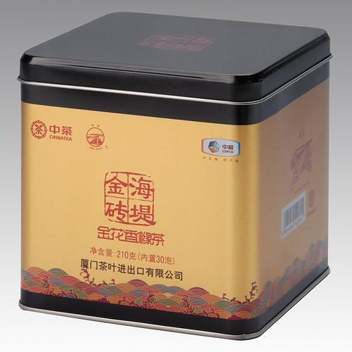 Sea Dyke Brand XTJ2902 Golden Flower Citron Fo Shou Buddha's Hand Chinese Fujian Oolong Tea 210g