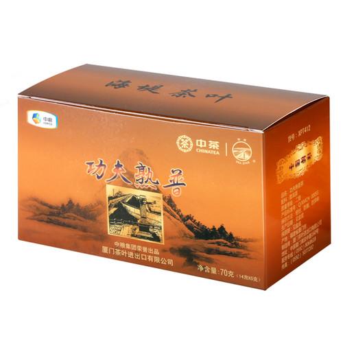 Sea Dyke Brand XPT412 kung Fu Pu-erh Tea Loose 2020 70g Ripe