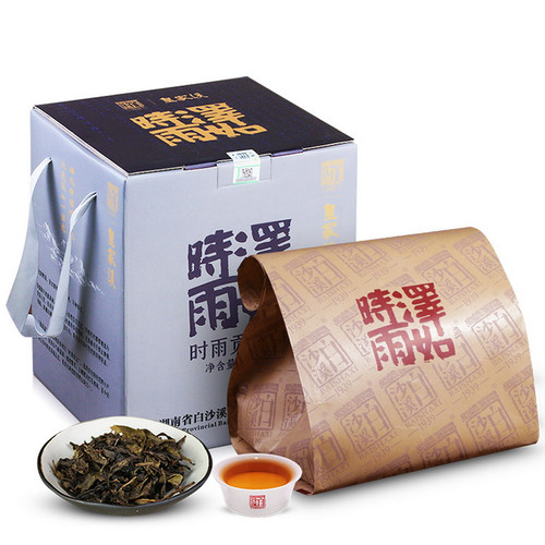 BAISHAXI Brand Huang Jia Xi Gong Jian Hunan Anhua Dark Tea 500g