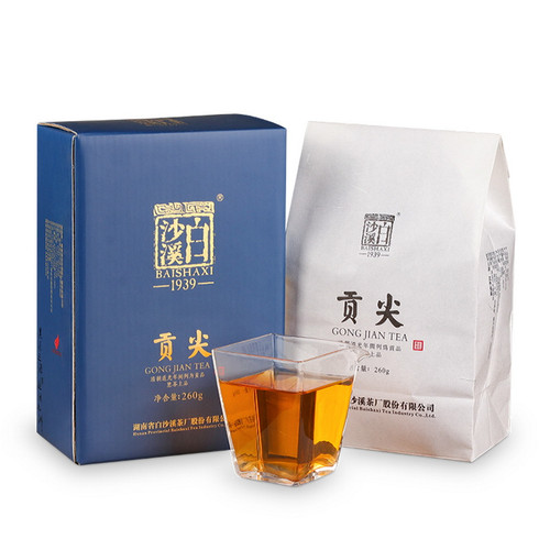 BAISHAXI Brand Gong Jian Hunan Anhua Dark Tea 260g