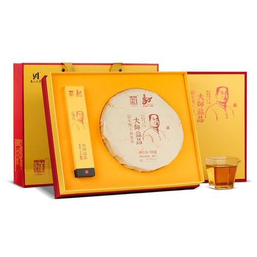 BAISHAXI Brand Da Shi Yi Pin Hunan Anhua Dark Tea 700g Cake