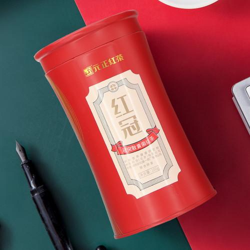 Yuan Zheng Brand Red Crown Hunan Anhua Dark Tea 100g