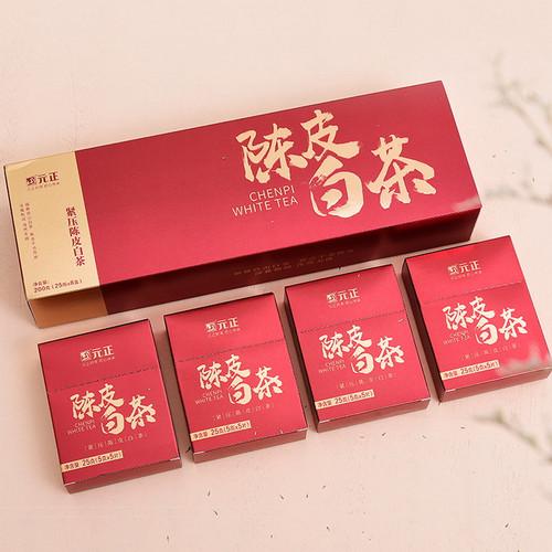 Yuan Zheng Brand Chenpi Gongmei White Tea With Orange Peel 200g