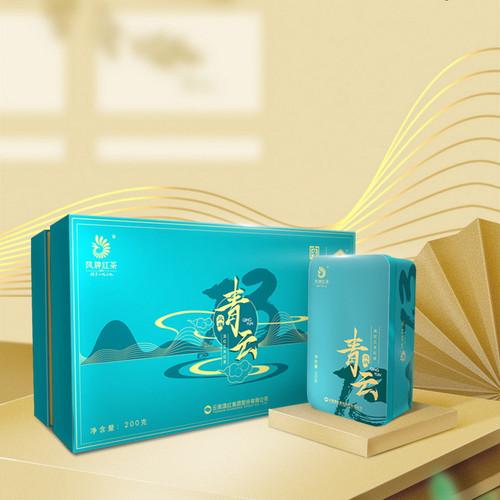 FENGPAI Brand Qing Yun Premium Grade Gong Fu Dian Hong Yunnan Black Tea 200g