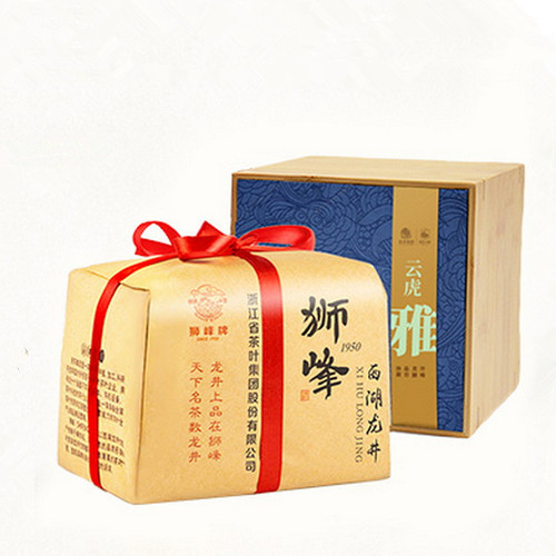 SHIFENG Brand 4A Ming Qian Premium Grade Xihu Long Jing  Dragon Well Green Tea 150g