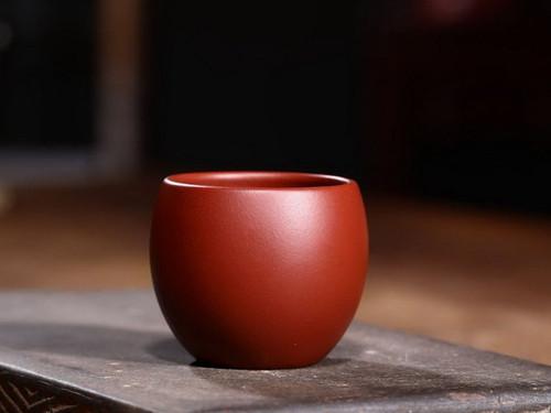 Handmade Yixing Zisha Clay Teacup Yuantong 90ml
