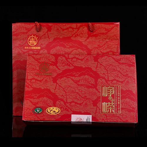 BAJIAOTING Brand Zheng Rong Pu-erh Tea Brick 2018 1000g Ripe