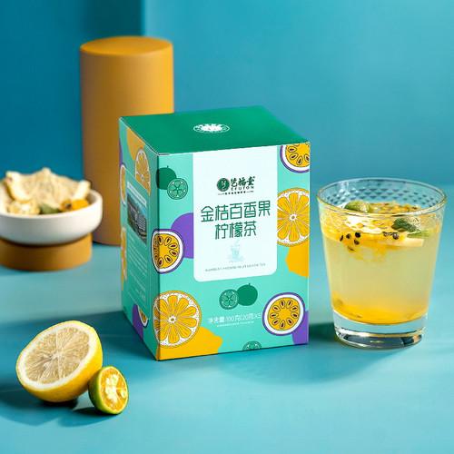 EFUTON Brand Kumquat Passion Fruit Lemon Mixed Fuits Loose Herbal Tea 100g
