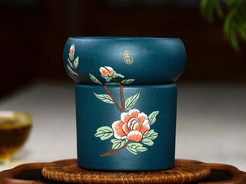 Handmade Yixing Zisha Clay Loose Tea Strainer Muduan
