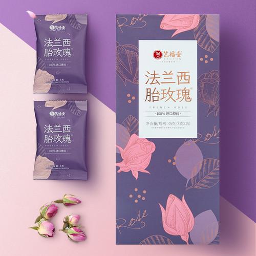 EFUTON Brand France Red Rosebud Tea Rose Tea 45g