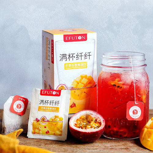 EFUTON Brand Man Bei Xian Xian Mixed Fuits Loose Herbal Tea Tea Bag 50g