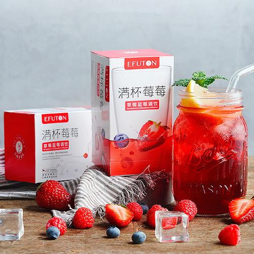 EFUTON Brand Man Bei Mei Mei Mixed Fuits Loose Herbal Tea Tea Bag 50g