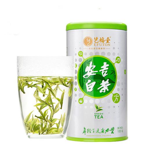 EFUTON Brand 15+ Ming Qian Premium Grade An Ji Bai Pian An Ji Bai Cha Green Tea 100g