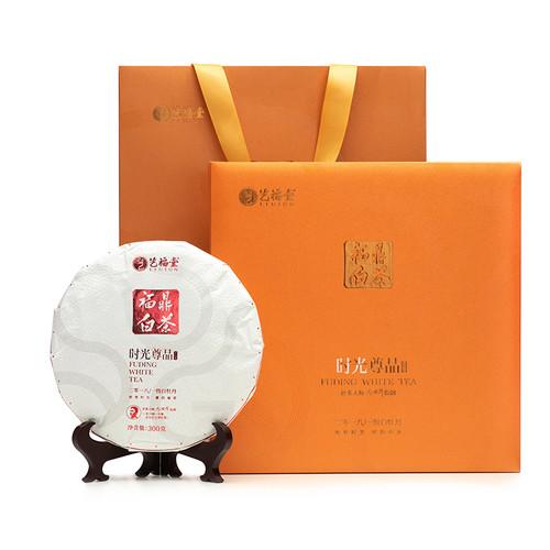 EFUTON Brand Shiguang Zunpin White Peony White Tea Cake 300g
