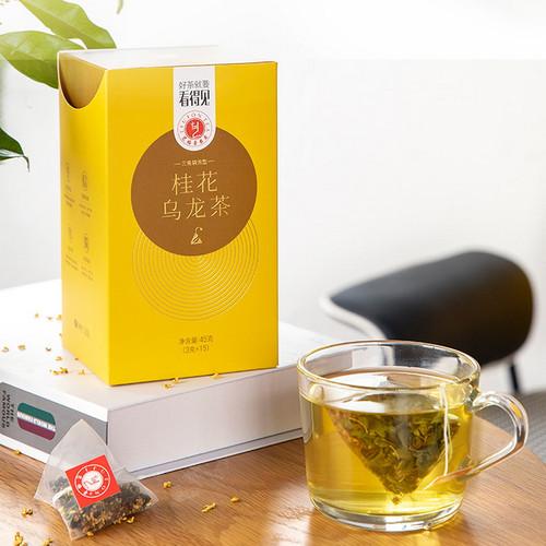 EFUTON Brand Gui Hua Oolong Osmanthus Oolong Tea Tea Bag 45g