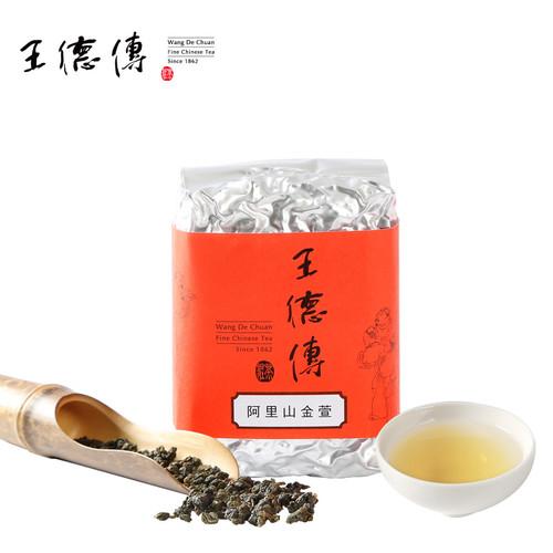 Wang De Chuan Brand AliShan Jin Xuan Taiwan High Mountain Gao Shan Oolong Tea 150g