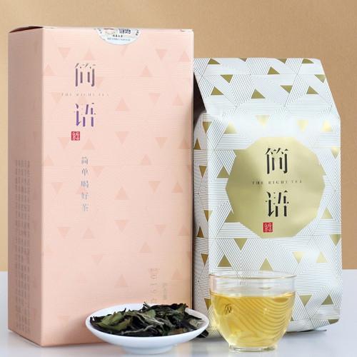 PINPIN TEA Brand Jian Yu Alpine White Peony Fuding White Tea Loose 100g