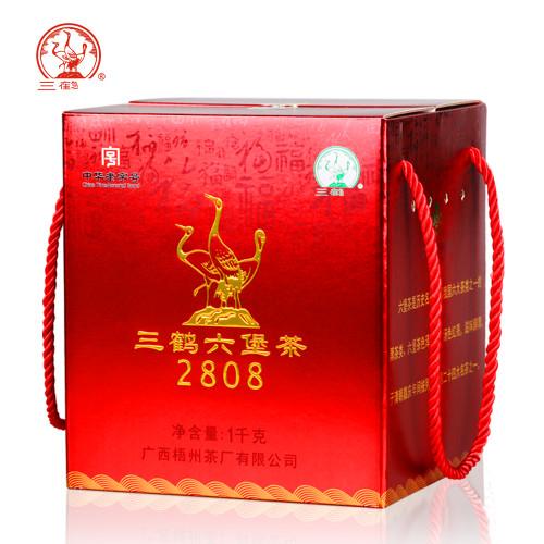 SAN HE Brand 2808 Liu Bao Hei Cha Dark Tea Loose 2018 1000g