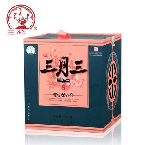SAN HE Brand San Yue San Liu Bao Hei Cha Dark Tea Loose 2018 300g