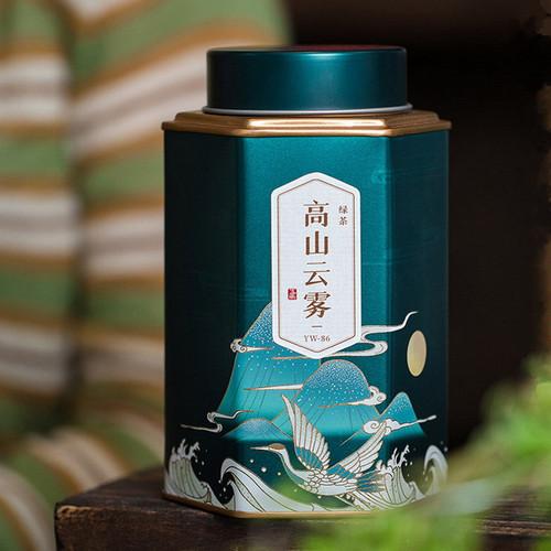 Wu Hu Brand High Mountain Cloud Mist Gao Shan Yun Wu Cha Chinese Green Tea 125g