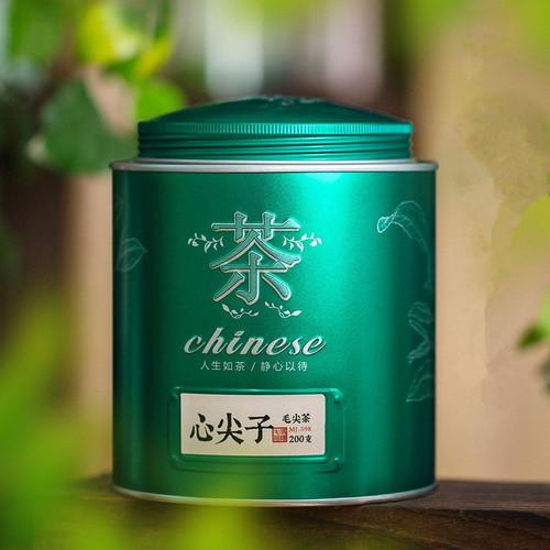 Wu Hu Brand Xin Jian Zi Xin Yang Mao Jian Xinyang Downy Tip Chinese Green Tea 200g